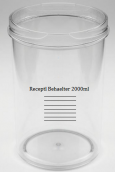 RECEPTAL BEHAELTER 2000ML